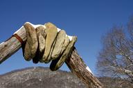 A rock sculpture in the Blue Ridge Mountains (thumbnail)